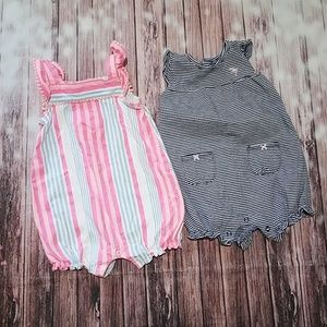 Carter's 18 - 24 mths baby girl summer bundle